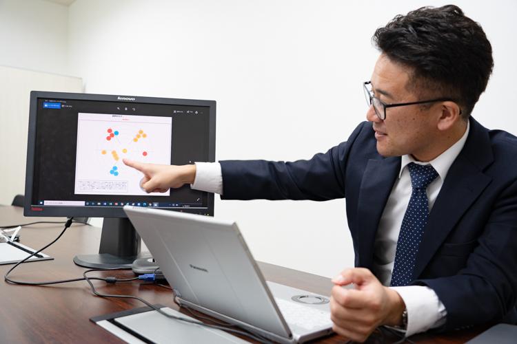 AIと統計学を駆使し最適な人材を採用